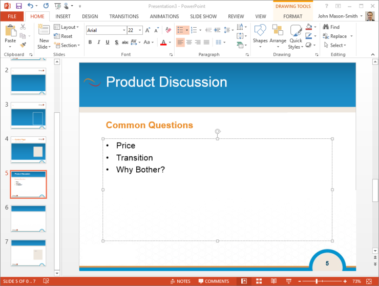 Simple PPT Example