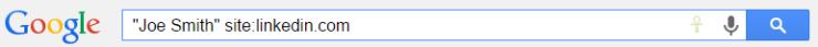 GoogleSearch Linkedin
